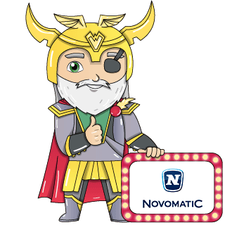 novomatic casino logo