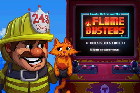 Flame Busters slot Thunderkick