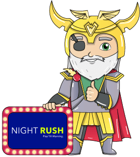 night rush casino logo