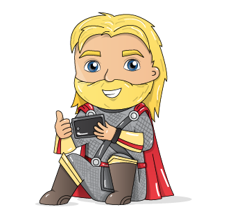 Thor playing Online Slots