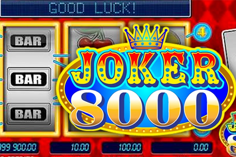 Jocker 8000 slot Microgaming
